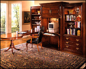 modern custom home office furniture