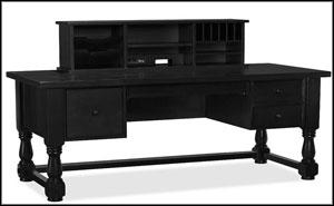 black elegant home office desks