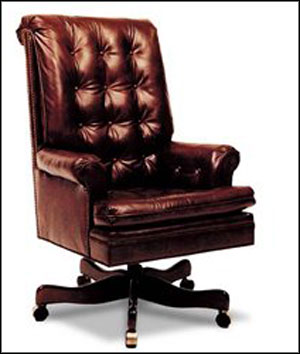 full leather home office chair