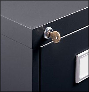 4 drawer lateral file cabinet locksmith