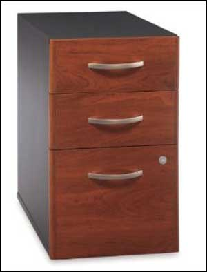 BUSH 3 drawer vertical file cabinet