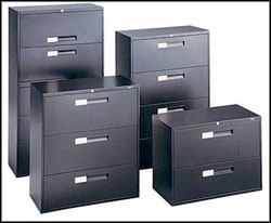 black modern filing cabinets cheap