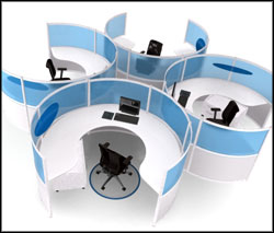 modern cubicle modular office furniture