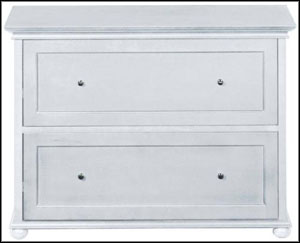 wooden filing cabinets 2 drawer white
