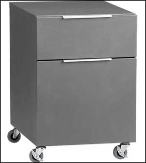 2 drawer travel file cabinet