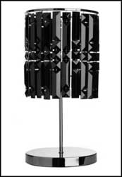 black crystal table lamps home lighting