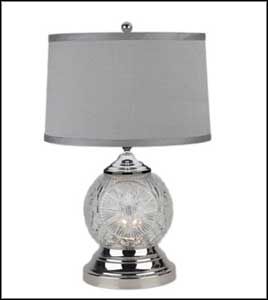 cheap crystal table lamps
