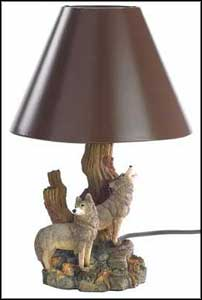 cheap table lamps brown shade