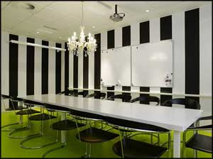 contemporary meeting room office decor