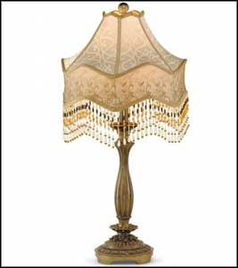 crystal brass buffet lamps