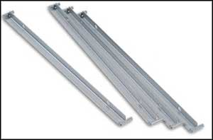 hon single file cabinet rails