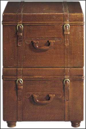 small wooden file cabinet