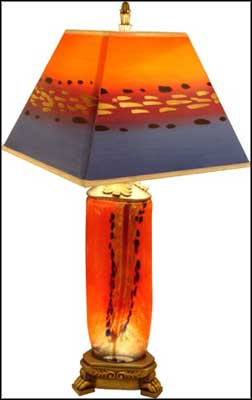unique ceramic glass table lamps
