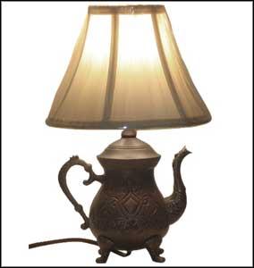 unique vintage table lamps