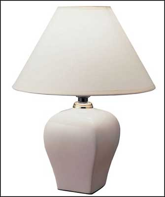 white ceramic table lamps for living room