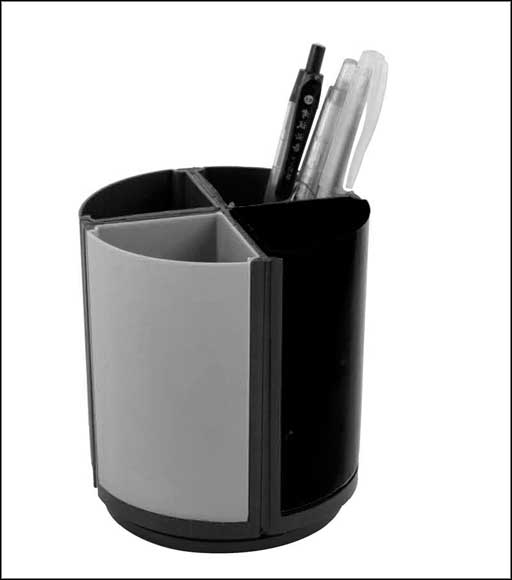 black and white reliable office supplies