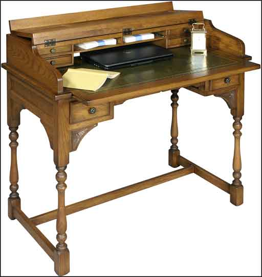 victorian writing desk plans