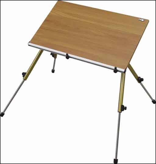 four legs wood laptop computer stands