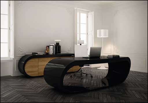 babini office desk design for executive look
