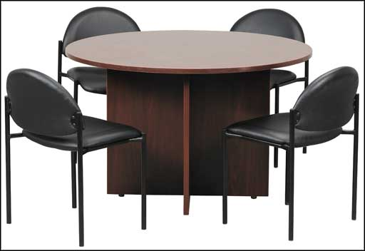 circular conference tables solid base