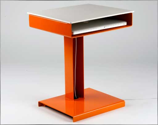 metal escritoire small computer laptop desk