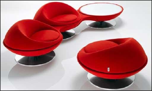 modern swivel armchairs design for office