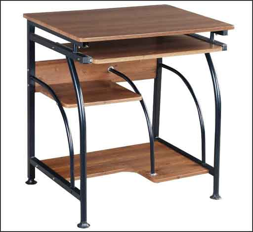 used computer furniture table solid wood
