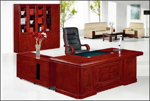 wooden executive office furniture design ideas