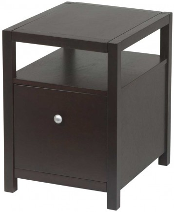 solids wood File Cabinet and veneers Espresso finish