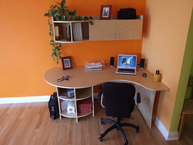 Built In Office Desk Designs