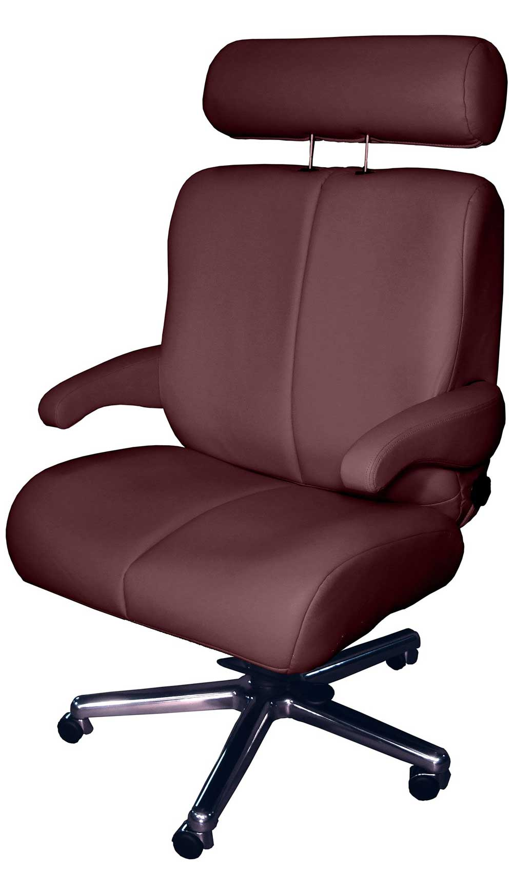 Bariatric Capacity Leather Tall and Wide Office Chair