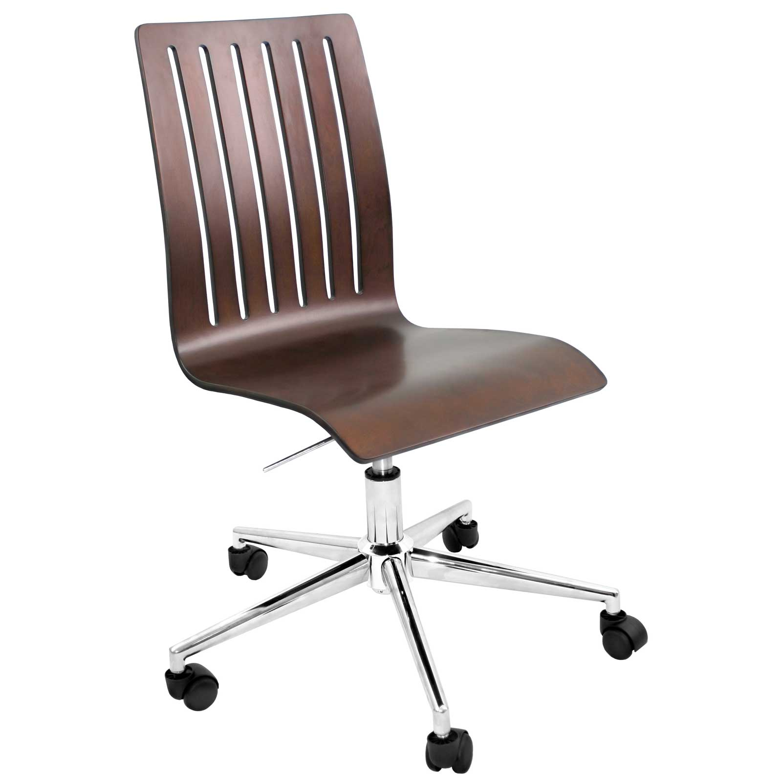 Bentley Wenge Sleek Wood Office Chairs