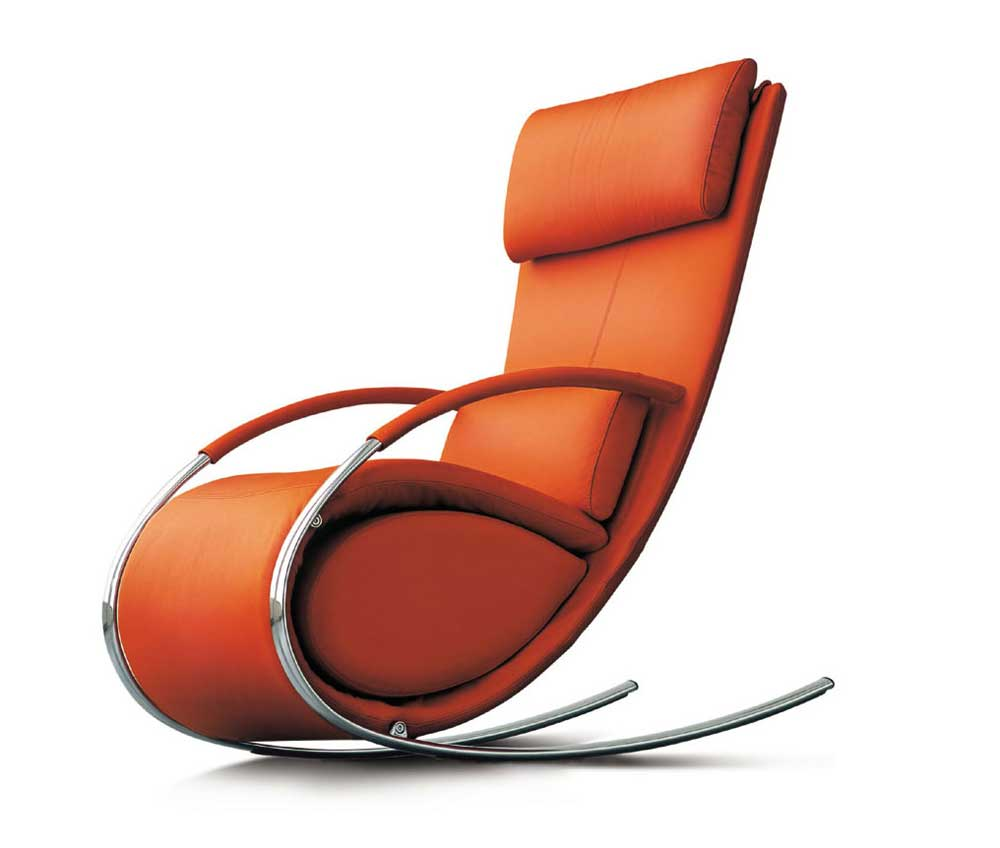 Modern designer leather office furniture chair