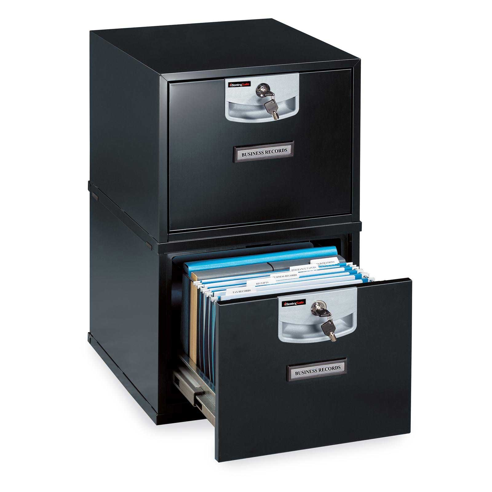 SentrySafe U2101 Stackable Fireproof Filing Cabinet for Professional