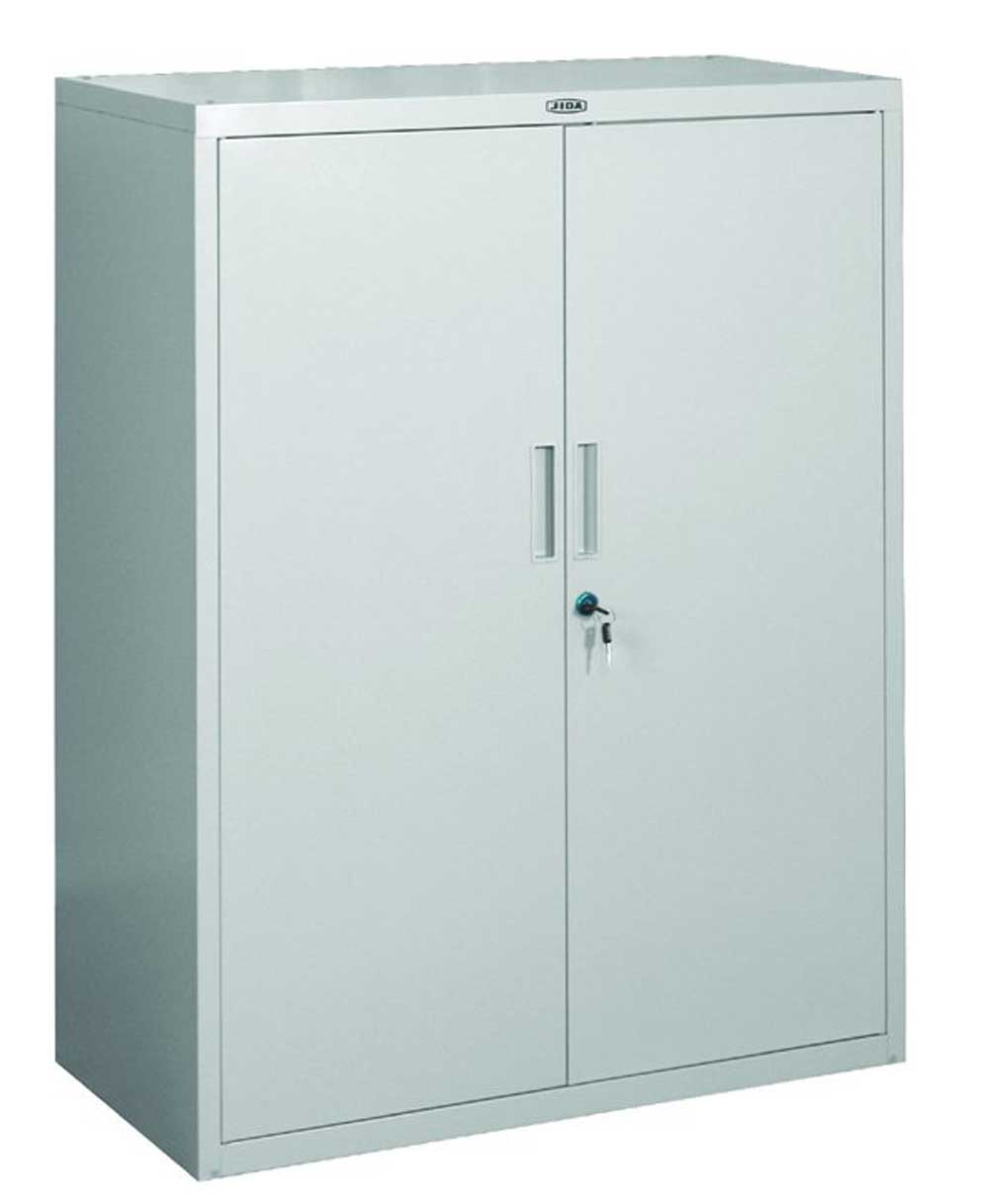 Steel Two Doors lockable filing cabinet