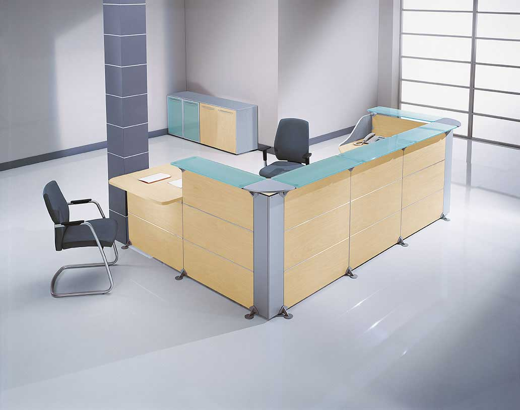 Small reception desk furniture design for Small furniture design