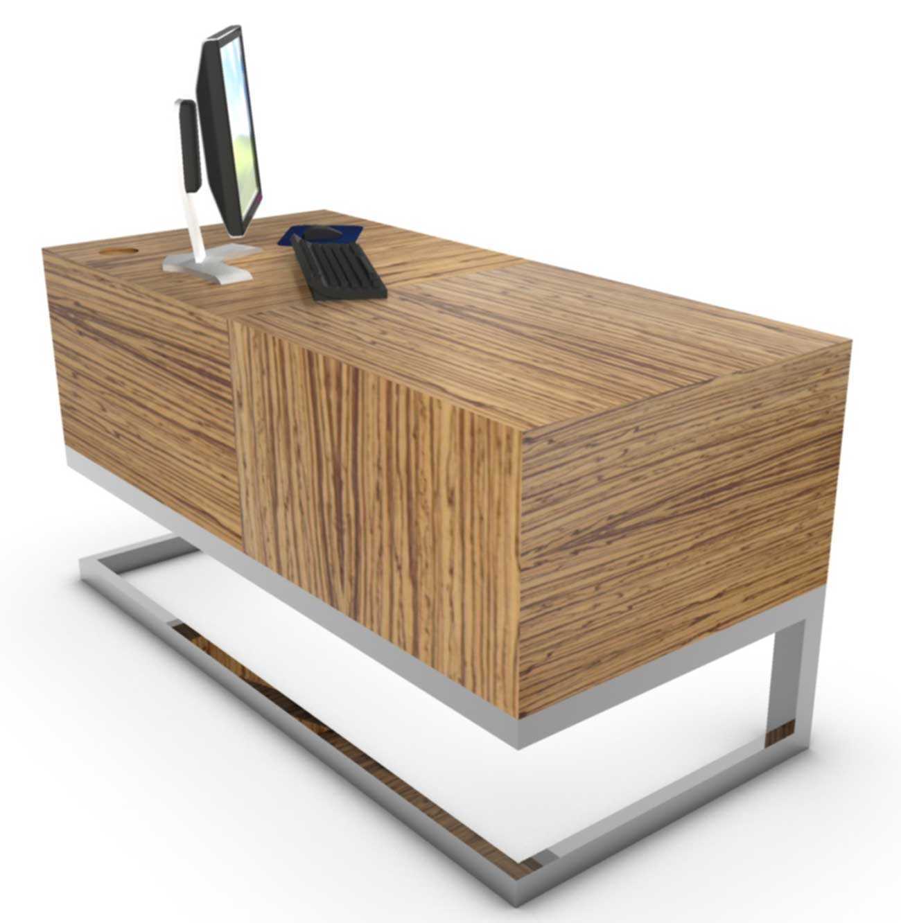 Contemporary wood office furniture office furniture for Modern wood furniture
