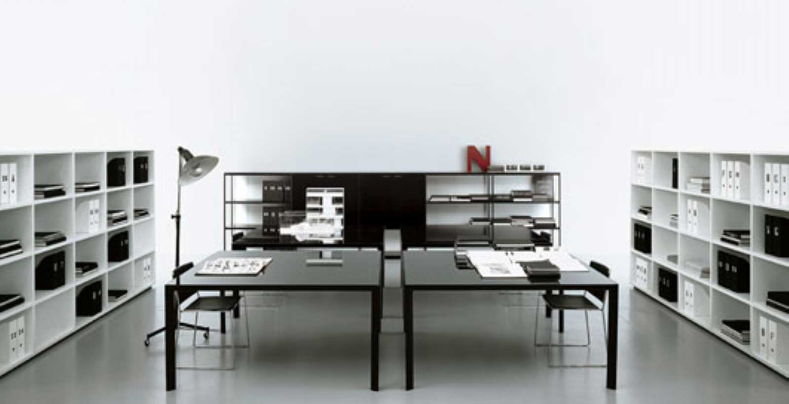 Modern home office furniture office furniture for Modern white office