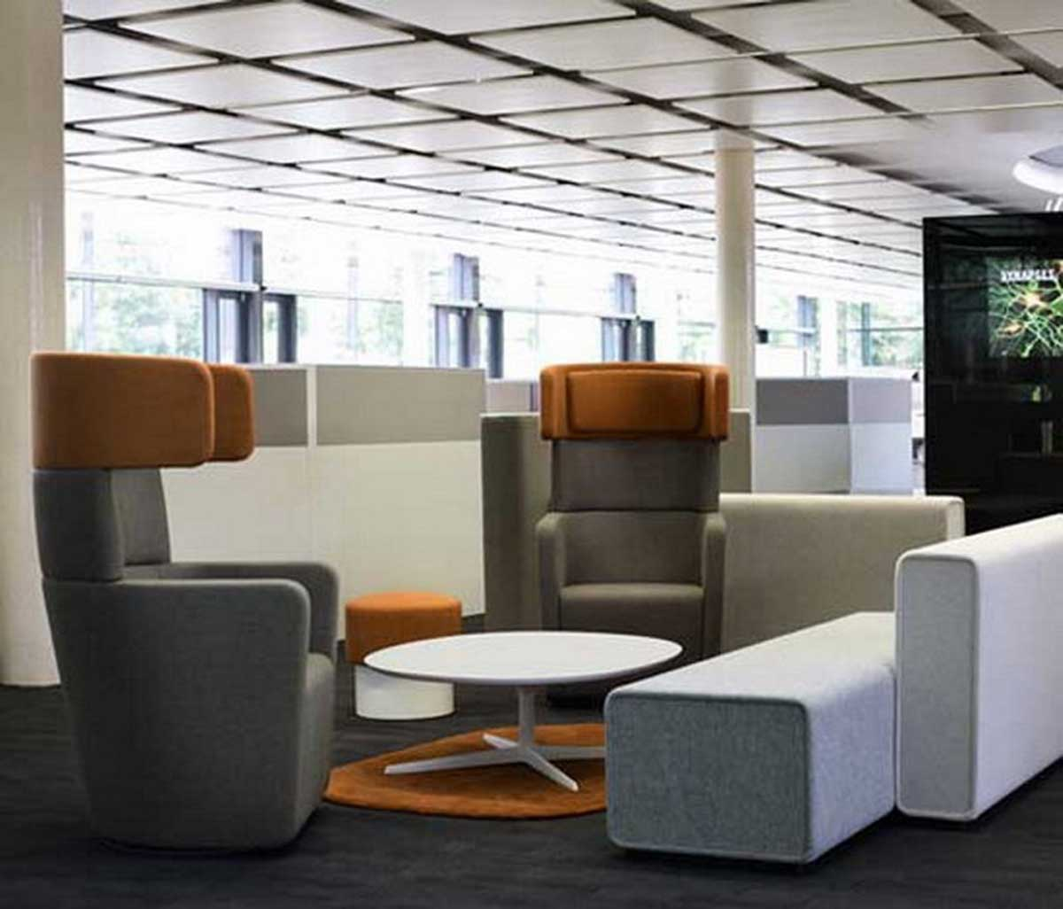 Contemporary executive office furniture for Modern office furniture pictures