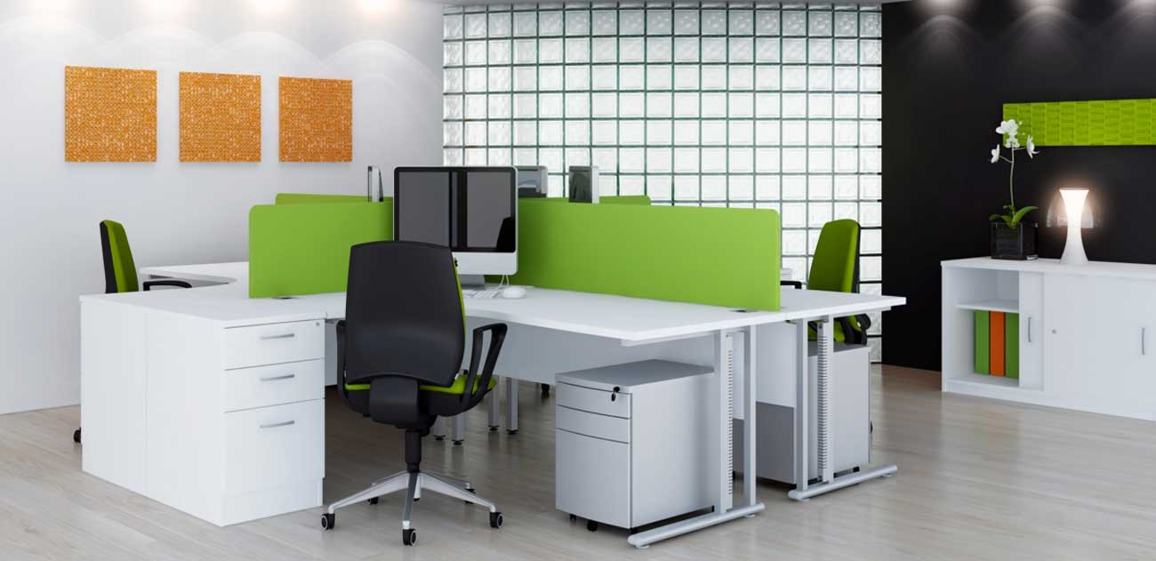 Ikea office furniture office furniture for Contemporary office interiors