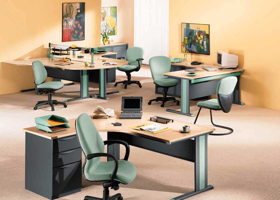 ergonomic cheap office desks and chairs sets