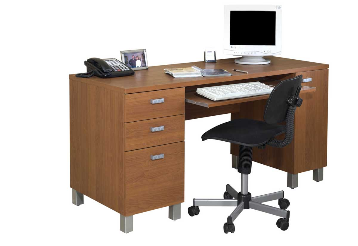 oak secretary cheap computer desk