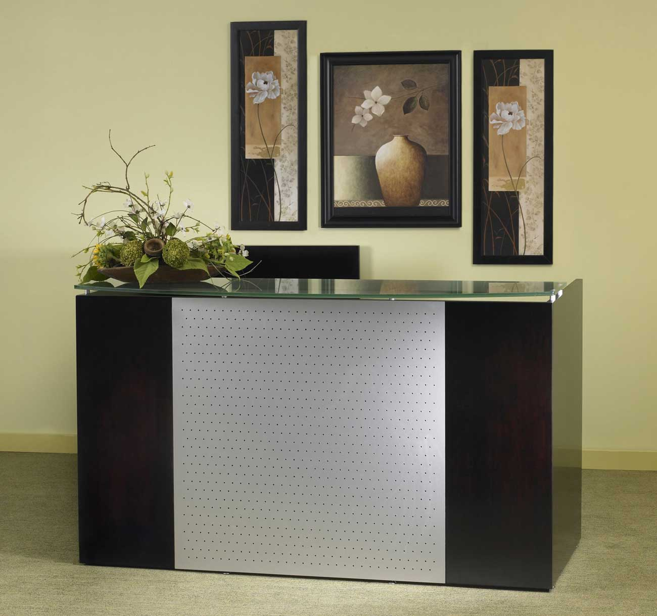 reception desks office furniture. Black Bedroom Furniture Sets. Home Design Ideas