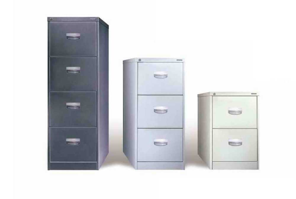 vertical filing cabinet drawers variation