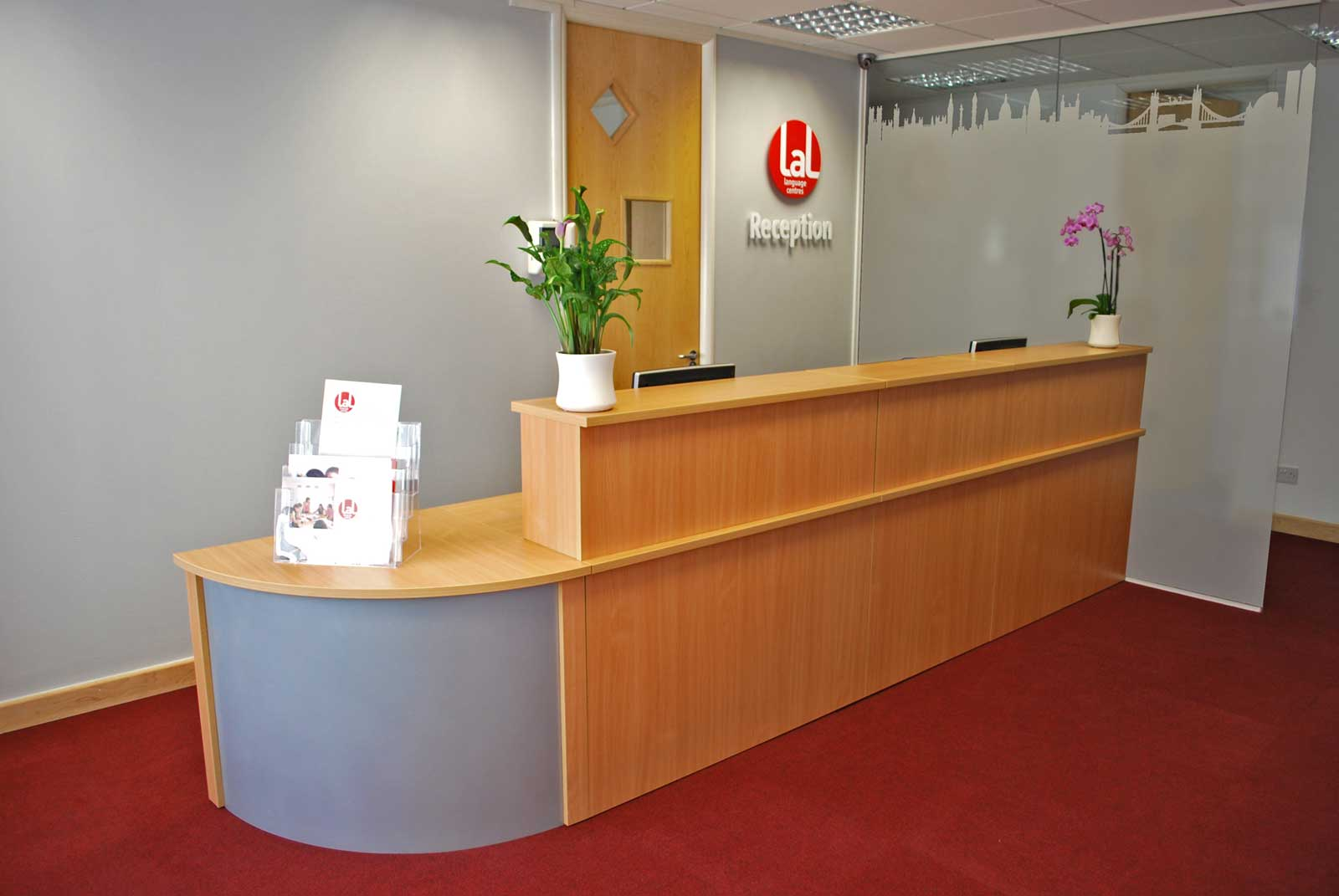 Modern reception desks for Reception furniture