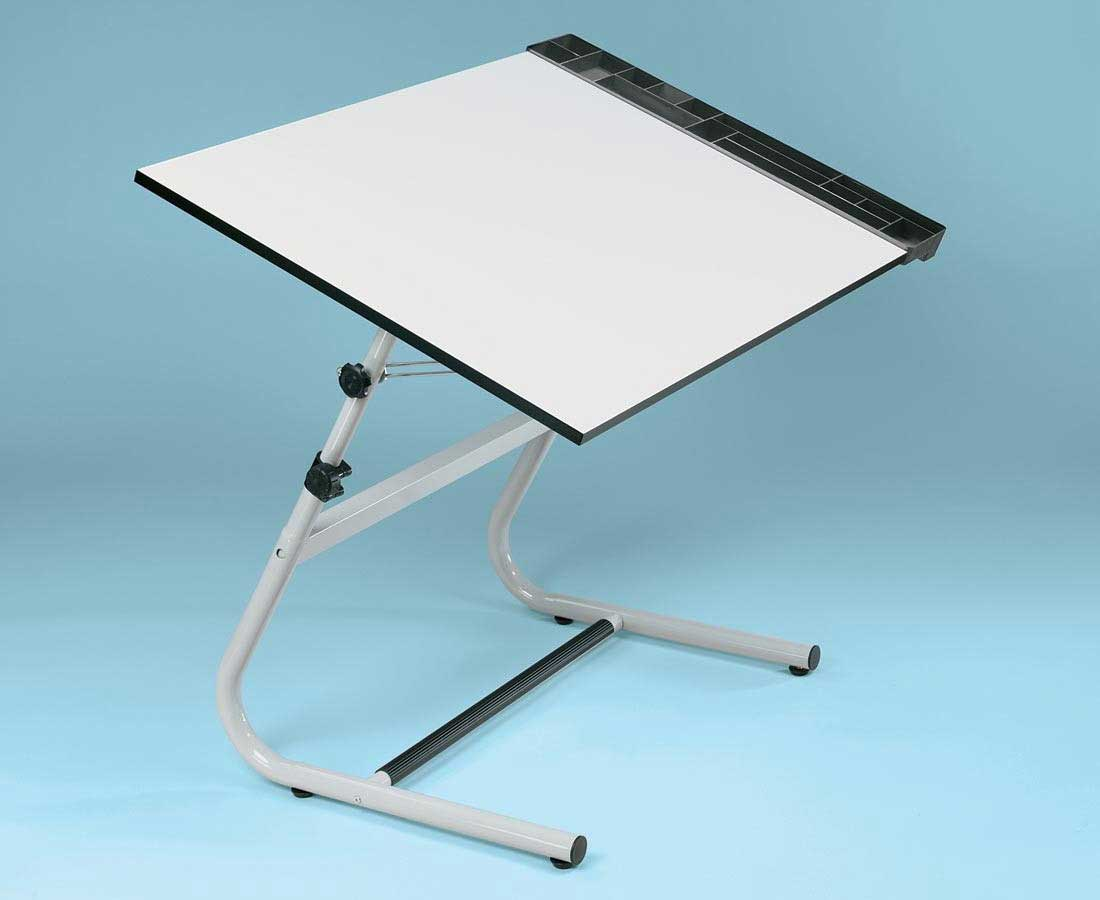 Foldable Chair And Table Set Images Buy Foldable Table  : Alvin Vista White Folding Drawing Tables from favefaves.com size 1100 x 900 jpeg 32kB