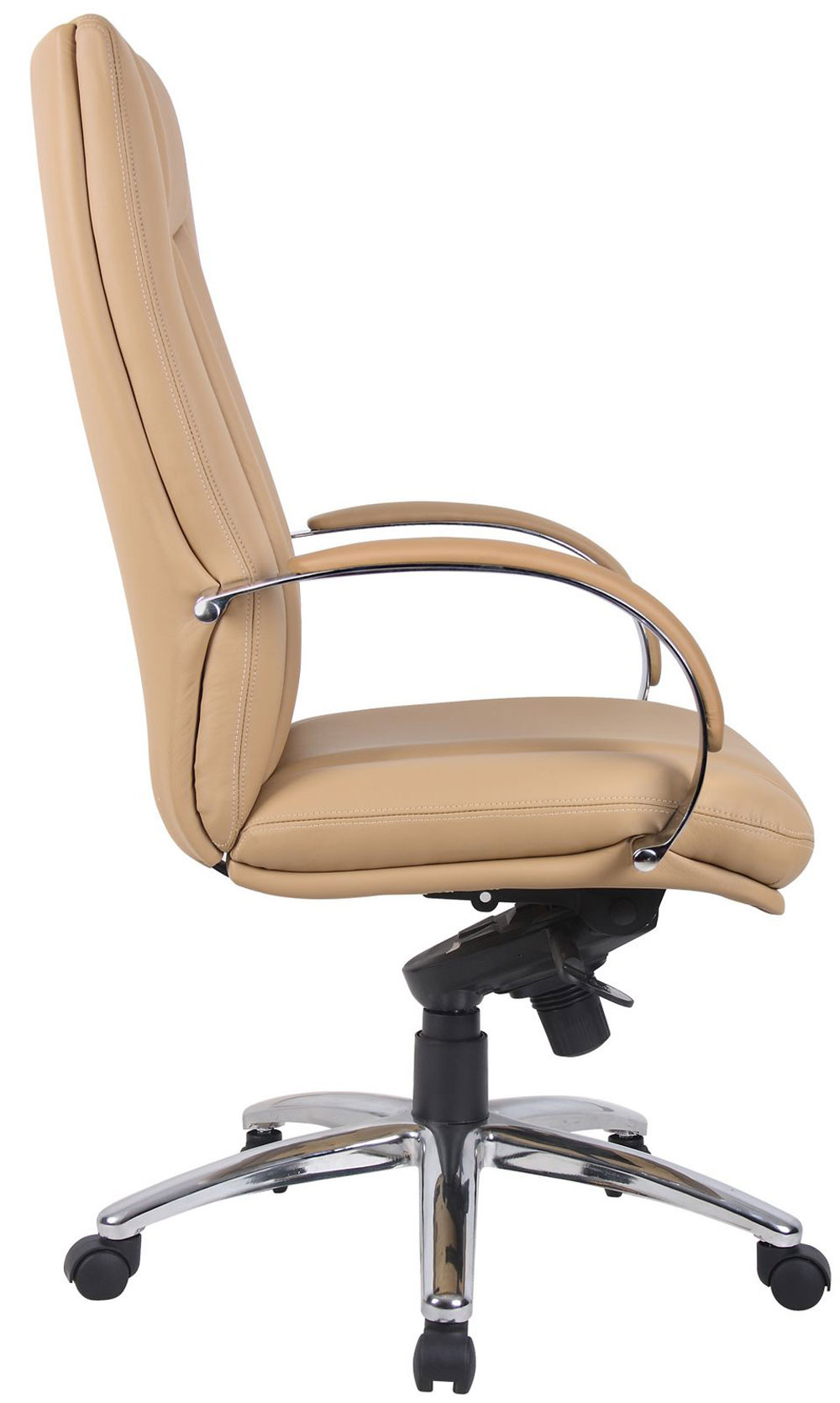 Brown Leather adjustable office chair executive