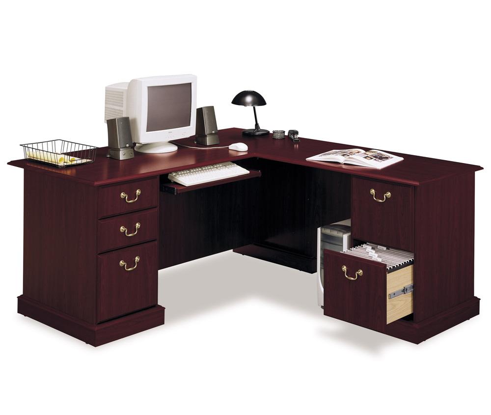 bush corner computer desk for home office