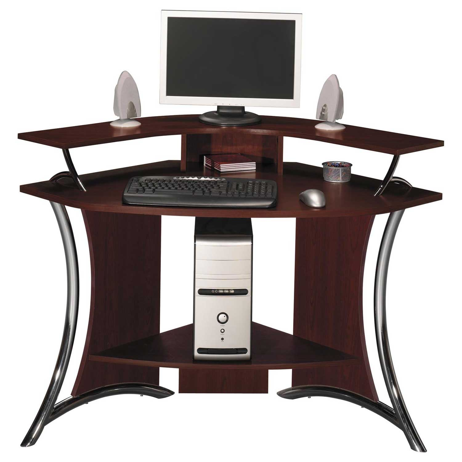 all wood corner desk office furniture. Black Bedroom Furniture Sets. Home Design Ideas