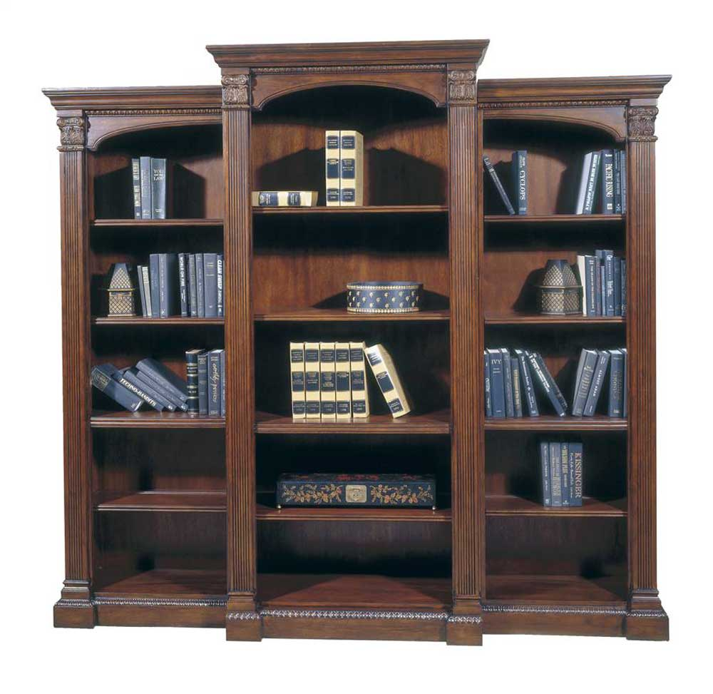 classic wood home office presidential barrister bookcase
